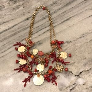 Jewelry - Coral necklace - perfect for summer!